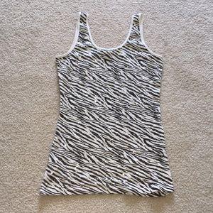 Lg zebra tank top